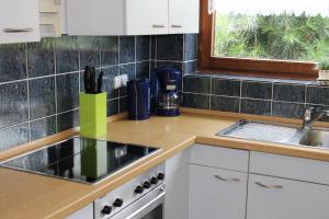 Küche/Küchenzeile in der Unterkunft Ferienwohnungen Angela