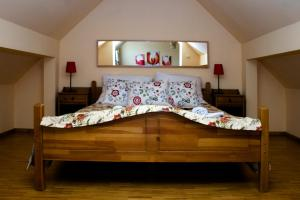 Łóżko lub łóżka w pokoju w obiekcie Hotel Vesta Centrum Konferencyjno Wypoczynkowe