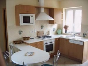 A kitchen or kitchenette at Holiday home Gîte des Hautes Côtes de Beaune