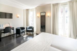 אזור ישיבה ב-Rossio Garden Hotel