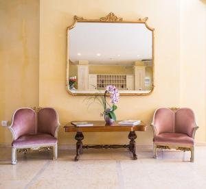 The lobby or reception area at Hotel Spiaggia d'Oro - Charme & Boutique