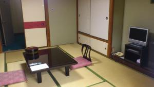 A television and/or entertainment center at Daibutsukan