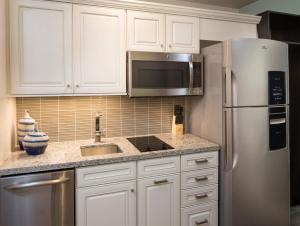 A kitchen or kitchenette at Treasure Island Beach Resort