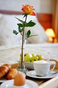 Možnosti raňajok pre hostí v ubytovaní Hotel Janosik
