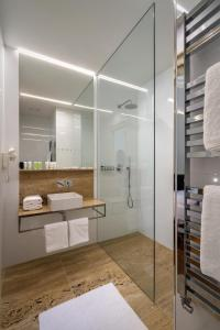 A bathroom at Golden Star