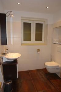 Ein Badezimmer in der Unterkunft Hotel Garni Daniela Urich