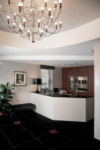 The lobby or reception area at Victoria Hotel