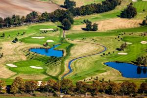 A bird's-eye view of Paolos Landhaus am Golfpark