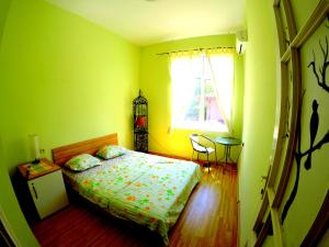 A bed or beds in a room at Funky Monkey Hostel