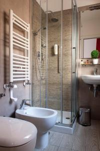A bathroom at Le Terrazze di San Giovanni