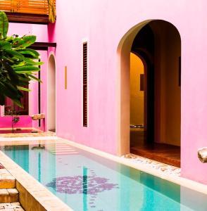 Piscina en o cerca de Rosas & Xocolate Boutique Hotel+Spa