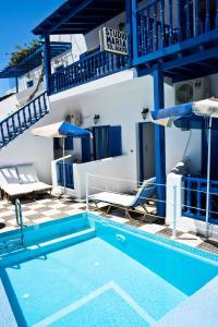 The swimming pool at or near Studio Maria Kafouros