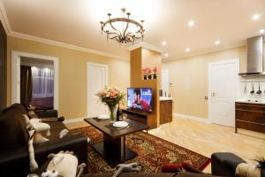 A television and/or entertainment center at BridgeStoneLuxApart