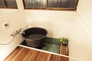 A bathroom at Araiya