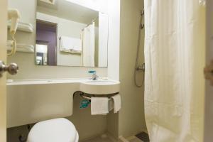Ванная комната в Jinjiang Inn - Rizhao Haiqu Park