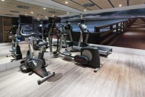Das Fitnesscenter und/oder die Fitnesseinrichtungen in der Unterkunft Catalonia Avinyo