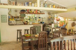Salon ou bar de l'établissement Chez Marine Guest House