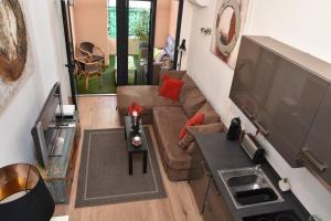 A kitchen or kitchenette at Duplex Patio Wilson