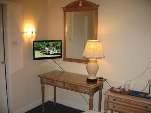 A television and/or entertainment center at The Barrington Hotel