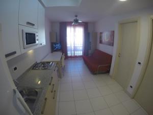 Posezení v ubytování Residence Zenith