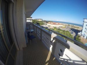 Balkón nebo terasa v ubytování Residence Zenith