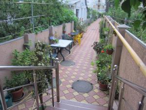 Балкон или терраса в Гостевой дом «Амелия»