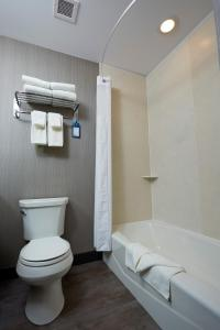 A bathroom at Best Western Plus East Side