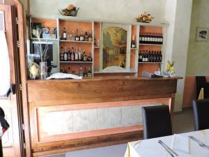 The lounge or bar area at Villa Tardioli