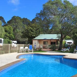 The swimming pool at or near Margaret River Tourist Park