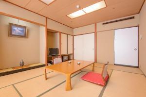 A television and/or entertainment center at Notsu Ryokan