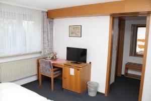 TV/Unterhaltungsangebot in der Unterkunft Hotel- Restaurant Zum Kleinen König