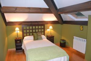 Cama o camas de una habitación en Apartamento La Casa del Abuelo Justo