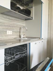 Кухня или мини-кухня в Apartment Ideal House