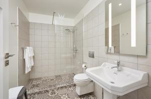 Salle de bains dans l'établissement Ice Apartments Reykjavik