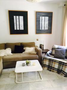 Zona de estar de Nuño Gomez Apartment