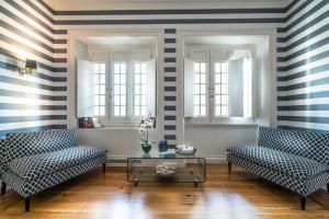 A seating area at Villa Vasco da Gama