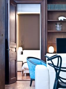 A television and/or entertainment center at Le Boudoir 137