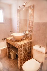 A bathroom at Perla Di Macchia