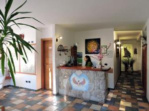 Hall o reception di Casa Hotel Civitella