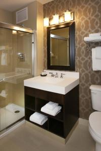 A bathroom at Resorts Casino Hotel Atlantic City