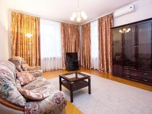 Телевизор и/или развлекательный центр в ApartLux Tverskaya-Yamskaya