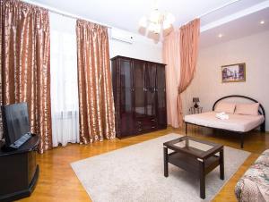 Гостиная зона в ApartLux Tverskaya-Yamskaya