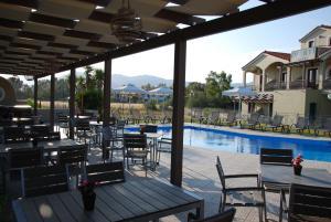 The swimming pool at or near Imerti Resort Hotel