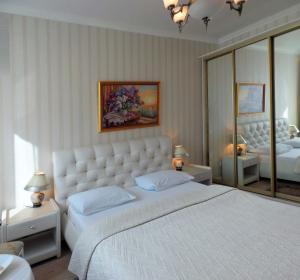 Кровать или кровати в номере Antwerpen