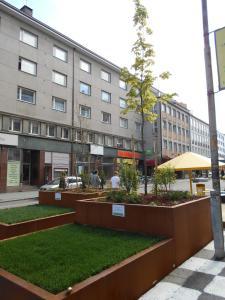 Rakennus, jossa huoneisto sijaitsee