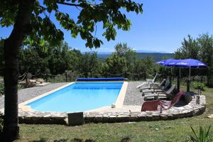 The swimming pool at or near Galileo en Provence