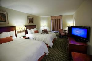 A television and/or entertainment center at Hampton Inn Carrollton