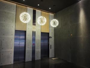 A bathroom at Hotel R14