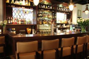 De lounge of bar bij Het Wapen van Noordwijkerhout