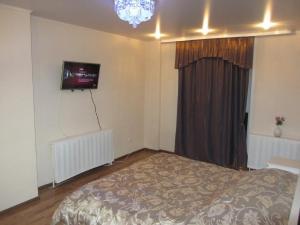 Телевизор и/или развлекательный центр в Apartment Revolutsionnaya 70 flower
